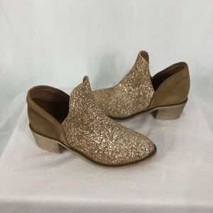 Cool by Coolway 10 Amber Booites Leather Sparkle